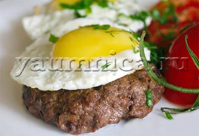 бифштекс из говядины рецепт