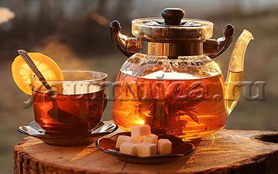 чай с лимоном рецепт