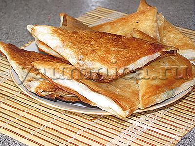 пирожки из лаваша рецепт