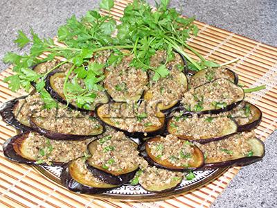 баклажаны с орехами рецепт