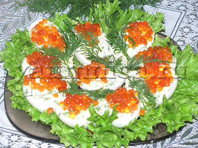 яйца фаршированные рецепт