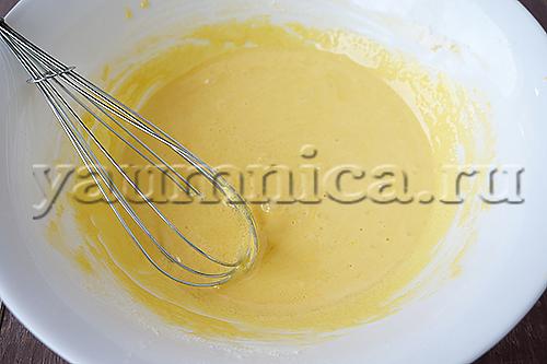 Как сделать заварной крем с желтками