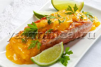 Рецепт приготовления лосося с соусом прога по тюнингу автомобиле