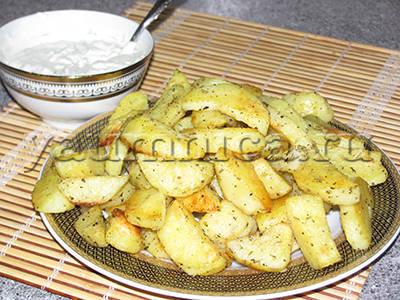 картофель по деревенски рецепт