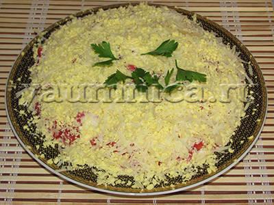 слоеный салат рецепты