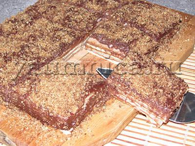 торт без выпечки рецепт