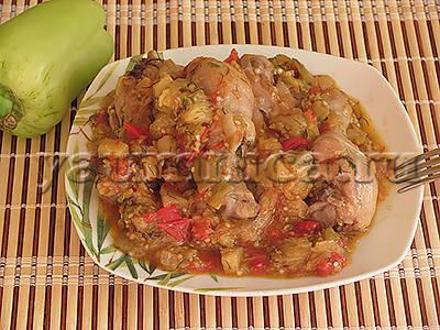 тушеные куриные голени рецепт