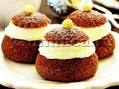рецепт шоколадных пирожных