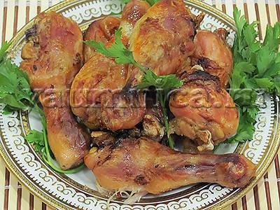 куриные голени рецепт