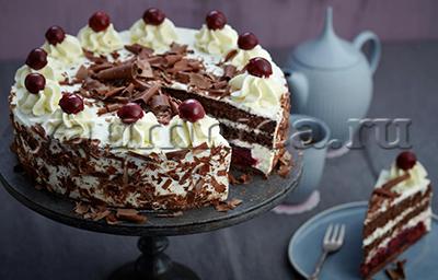 бисквитный торт рецепт