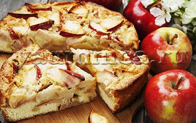яблочный пирог рецепты