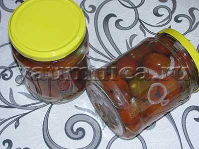 маринованные помидоры рецепты