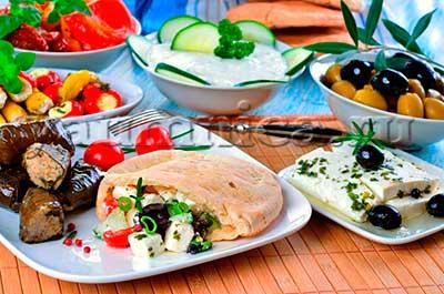 греческая кухня рецепты