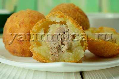 картофельные шарики рецепт