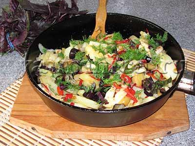 овощные блюда рецепт