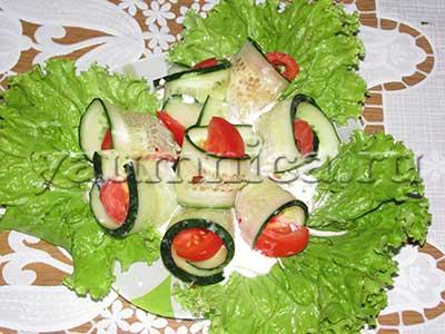 салаты рецепт