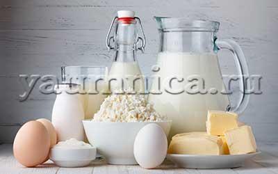 молоко рецепты
