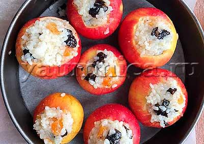 яблоки в духовке рецепты