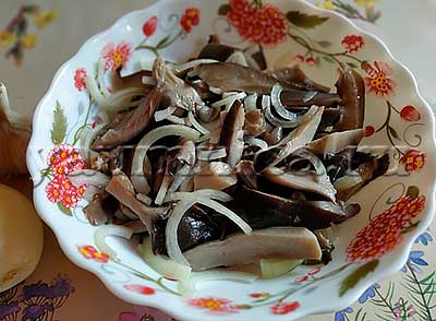 грибы рецепты