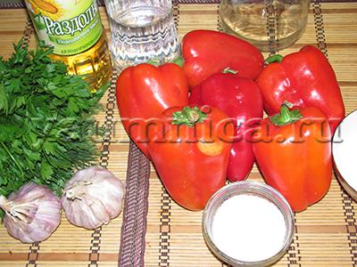 Маринованный болгарский перец на зиму пошаговый рецепт фото