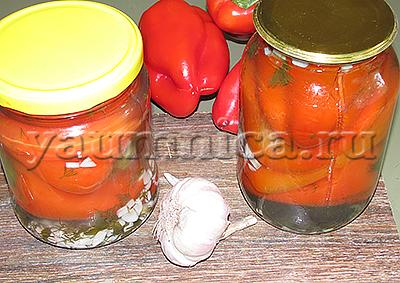простой рецепт маринованного перца