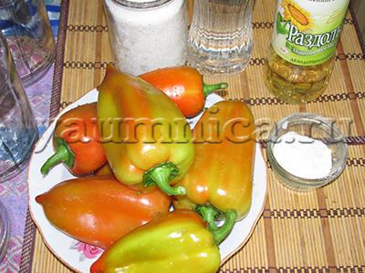 болгарский перец на зиму рецепты