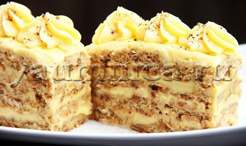 ореховые пирожные