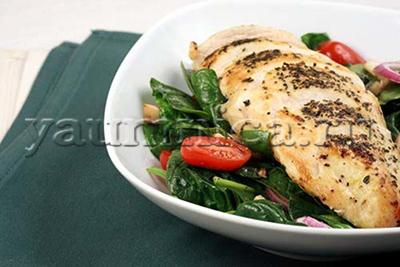 диетическая курица рецепт