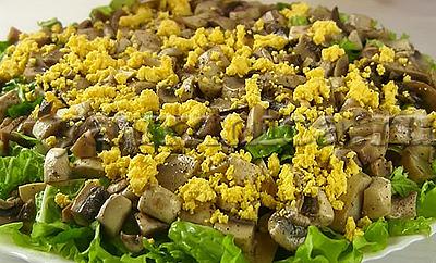 салат с яйцами рецепт
