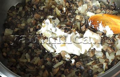 жареные грибы рецепт