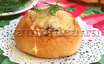 жульен с грибами в духовке рецепт
