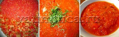 соус томатный домашний рецепт