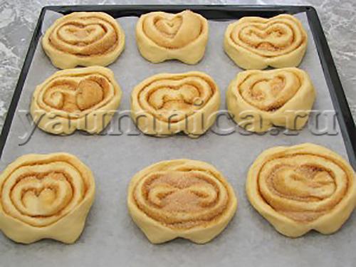 Как сделать домашние булочки