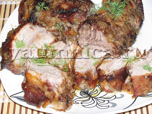 Что приготовить из ребрышек свинины рецепт с пошагово