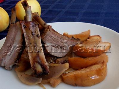 Свиные ребра в духовке рецепт