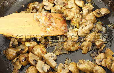 поджарка из грибов рецепт
