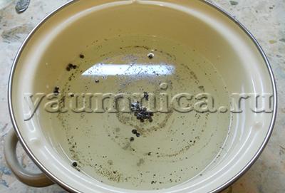 маринад для капусты рецепт