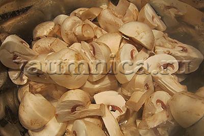 Маринованные шампиньоны пошаговый рецепт