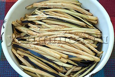 Острый салат из баклажанов на зиму рецепт