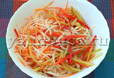 салат из баклажанов рецепт
