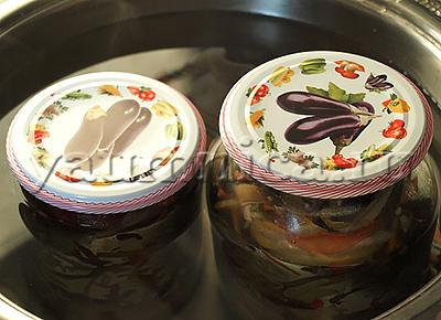 готовим салат из баклажанов на зиму