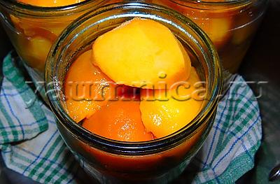 Персики консервированные на зиму рецепт