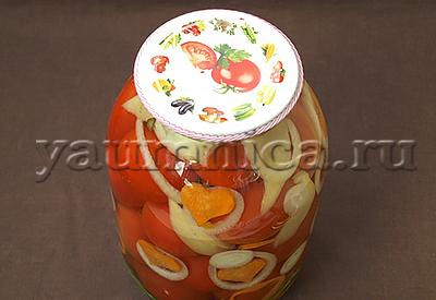 маринованные помидоры с морковью рецепт