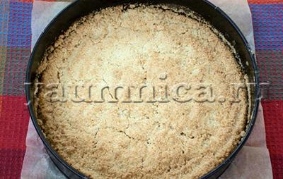 насыпной пирог рецепт