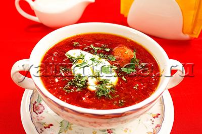 рецепт приготовления борща украинского пошаговый с фото
