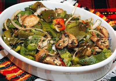 Вкусный овощной салат рецепт