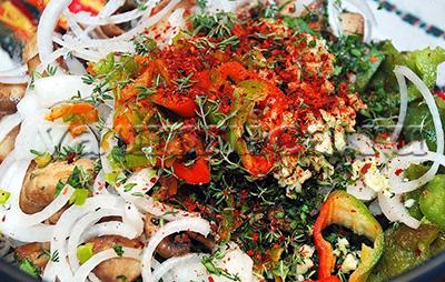 Салат с болгарским перцем рецепт