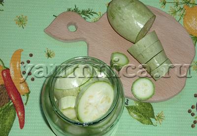 рецепт консервированных кабачков