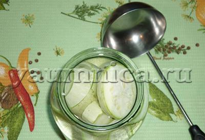 вкусные консервированные кабачки рецепт