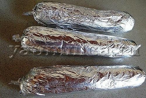 Сладкая колбаска пошаговое фото 3